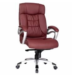 Кресло Good-Kresla George Burgundy для руководителя, цвет бордовый