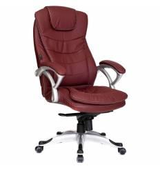 Кресло Good-Kresla Patrick Burgundy для руководителя, цвет бордовый