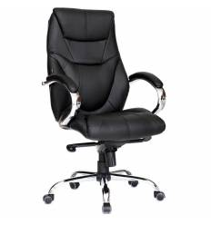 Кресло Good-Kresla Vegard Black для руководителя, цвет черный