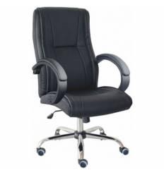 Кресло Good-Kresla Olof Black для руководителя, цвет черный