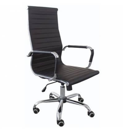 Кресло Good-Kresla Karl Black для руководителя, цвет черный