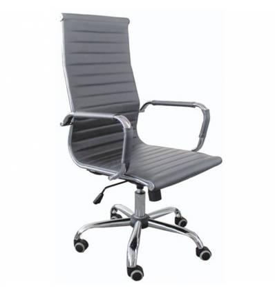 Кресло Good-Kresla Karl Grey для руководителя, цвет серый