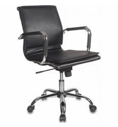 Кресло Бюрократ CH-993-LOW/BLACK для руководителя, цвет черный