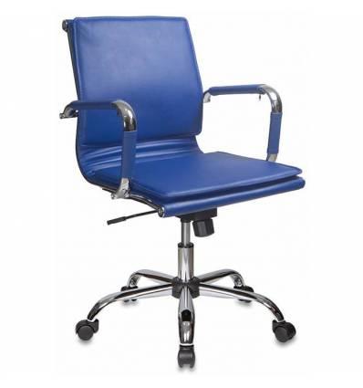Кресло Бюрократ CH-993-LOW/BLUE для руководителя, цвет синий
