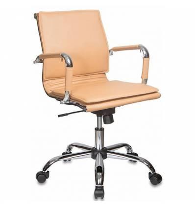 Кресло Бюрократ CH-993-LOW/CAMEL для руководителя, цвет светло-коричневый