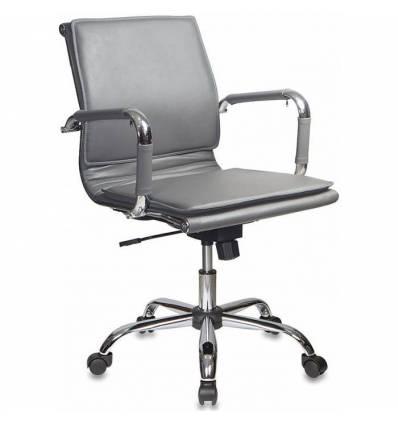 Кресло Бюрократ CH-993-LOW/GREY для руководителя, цвет серый