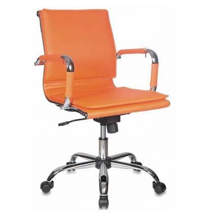 Кресло Бюрократ CH-993-LOW/ORANGE для руководителя, цвет оранжевый