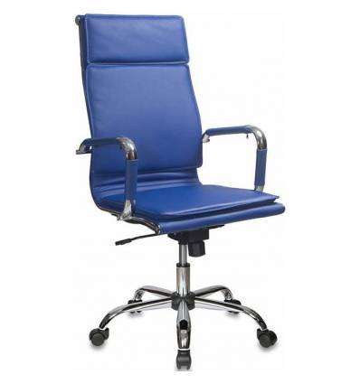 Кресло Бюрократ CH-993/BLUE для руководителя, цвет синий