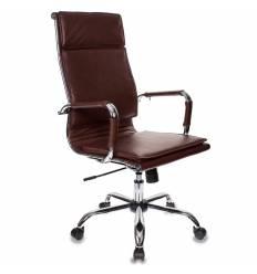 Кресло Бюрократ CH-993/BROWN для руководителя, цвет коричневый