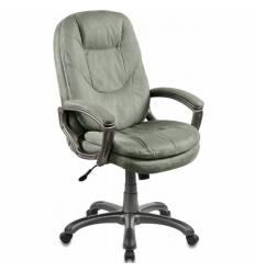 Кресло Бюрократ CH-868AXSN/MF109 для руководителя, цвет зеленый