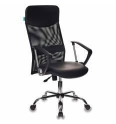 Кресло Бюрократ CH-600/OR-16 для руководителя, цвет черный