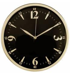 Часы Бюрократ WALLC-R25M настенные аналоговые, цвет черный