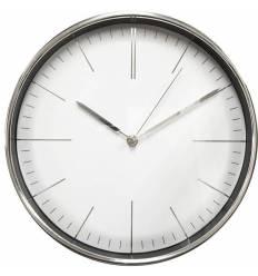 Часы Бюрократ WALLC-R28P настенные аналоговые, цвет хром