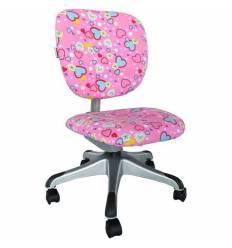 Кресло Libao LB-C19/PINK компьютерное, детское, цвет розовый