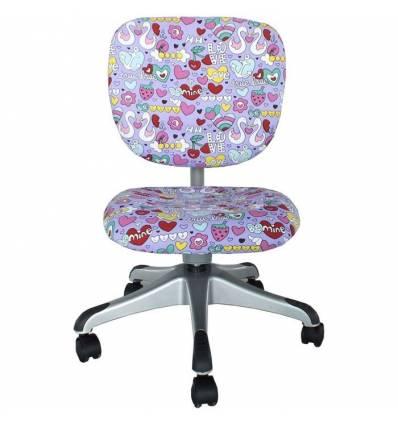 Кресло Libao LB-C19/PURPLE компьютерное, детское, цвет фиолетовый
