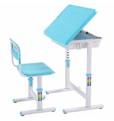 Комплект парта+стул Libao LB-C05/D08/BLUE детский, цвет синий