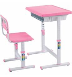 Комплект парта+стул Libao LB-C05/D08/PINK детский, цвет розовый
