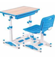 Комплект парта+стул Libao LK-11/BLUE детский, цвет синий