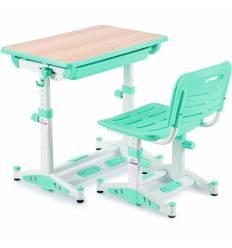 Комплект парта+стул Libao LK-11/GREEN детский, цвет зеленый