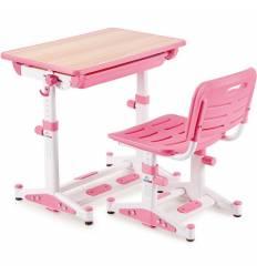 Комплект парта+стул Libao LK-11/PINK детский, цвет розовый