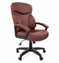 Кресло CHAIRMAN 435LT/BROWN для руководителя, цвет коричневый