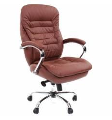 Кресло CHAIRMAN 795 ЭКО/brown для руководителя, экокожа, цвет коричневый