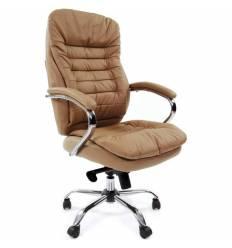 Кресло CHAIRMAN 795 ЭКО/beige для руководителя, экокожа, цвет бежевый