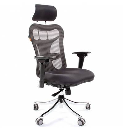 Кресло CHAIRMAN 769/TW-12 для руководителя, цвет серый