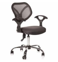 Кресло CHAIRMAN 380/TW12-TW04 для оператора, сетка/ткань, цвет серый
