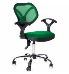 Кресло CHAIRMAN 380/TW18-TW03 для оператора, сетка/ткань, цвет зеленый