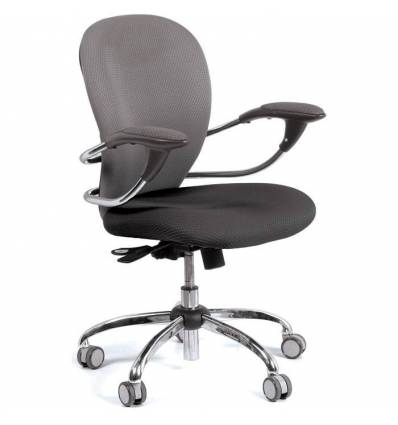 Кресло CHAIRMAN 686/V398-20/V398-13 для оператора, ткань, цвет серый/черный