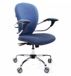 Кресло CHAIRMAN 686/V398-87/V398-85 для оператора, ткань, цвет голубой/синий