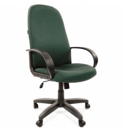 Кресло CHAIRMAN 279/JP 15-4 для руководителя, ткань, цвет зеленый
