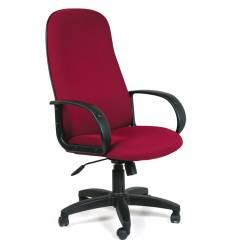 Кресло CHAIRMAN 279/TW-13 для руководителя, ткань, цвет бордовый