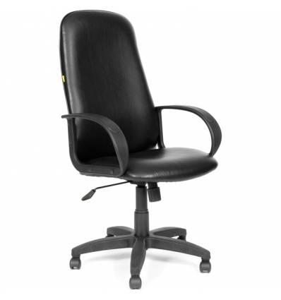 Кресло CHAIRMAN 279/black для руководителя, экокожа, цвет черный