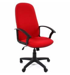 Кресло CHAIRMAN 289 NEW/12-266 для руководителя, ткань, цвет красный