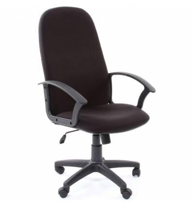 Кресло CHAIRMAN 289 NEW/10-356 для руководителя, ткань, цвет черный