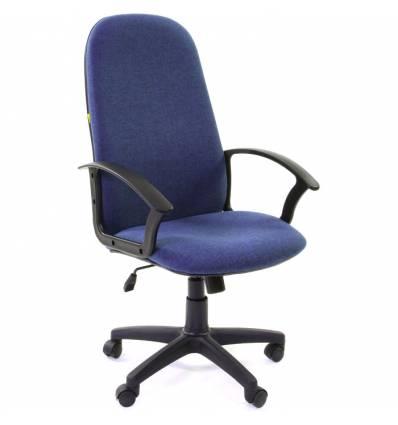 Кресло CHAIRMAN 289 NEW/10-362 для руководителя, ткань, цвет синий