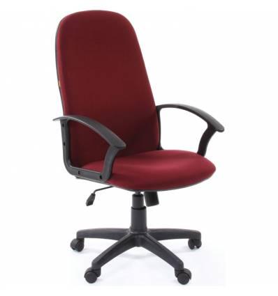 Кресло CHAIRMAN 289 NEW/10-361 для руководителя, ткань, цвет бордовый