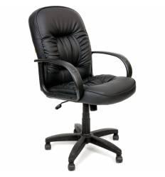 Кресло CHAIRMAN 416M/black matte для руководителя, экокожа матовая, цвет черный