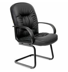 Кресло CHAIRMAN 416V для посетителя, экокожа, цвет черный