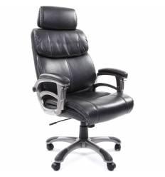 Кресло CHAIRMAN 433/grey для руководителя, экокожа, цвет темно-серый