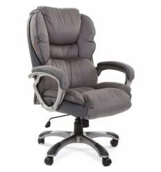 Кресло CHAIRMAN 434N/grey для руководителя, микрофибра, цвет серый
