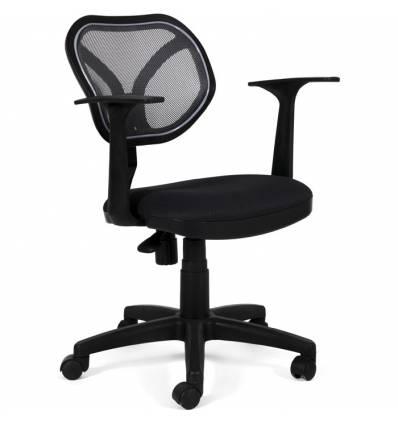Кресло CHAIRMAN 450 NEW/TW11-TW01 для оператора, сетка/ткань, цвет черный