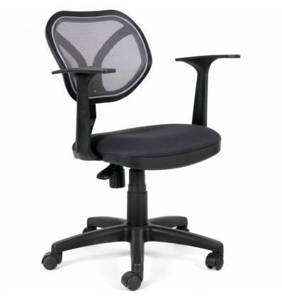 Кресло CHAIRMAN 450 NEW/TW12-TW04 для оператора, сетка/ткань, цвет серый