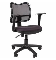 Кресло CHAIRMAN 450/TW-12 для оператора, сетка/ткань, цвет черный/серый