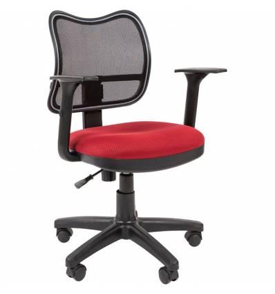 Кресло CHAIRMAN 450/TW-13 для оператора, сетка/ткань, цвет черный/бодовый