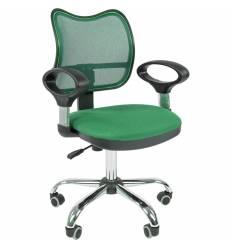 Кресло CHAIRMAN 450 сhrom/TW18-TW03 для оператора, сетка/ткань, цвет зеленый
