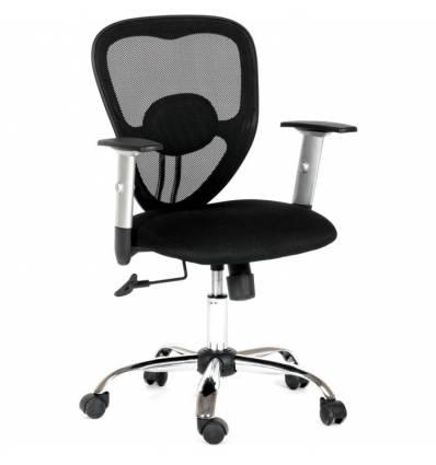 Кресло CHAIRMAN 451/TW-11 для оператора, сетка/ткань, цвет черный