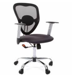 Кресло CHAIRMAN 451/TW-12 для оператора, сетка/ткань, цвет черный/серый